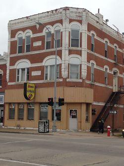 Iowa Central Cafe Menu